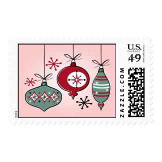 Retro Ornaments Stamp