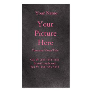 Retro oscuro tarjeta de visita