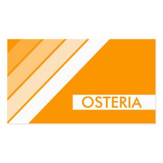 retro OSTERIA Business Card