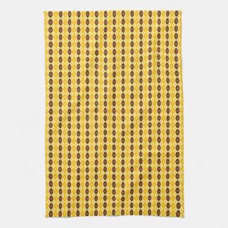 Retro Ovals & Starbursts Towel