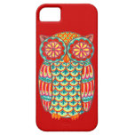 Retro Owl Groovy iPhone 5 Case