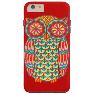 Retro Owl Groovy iPhone 6 Plus case