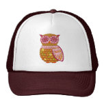 Retro Owl Hat