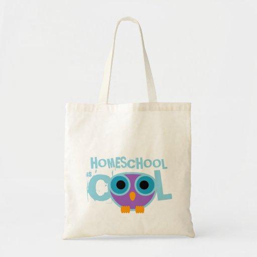 retro owl HOMESCHOOL TEACHER gift tote Tote Bag