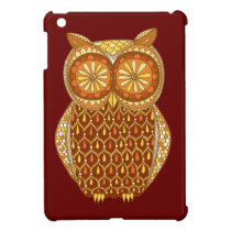 Retro Owl iPad Mini Case