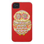Retro Owl iPhone 4/4S Barely There Case-Mate Case iPhone 4 Cover