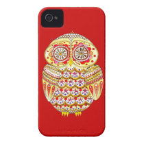 Retro Owl iPhone 4/4S Barely There Case-Mate Case