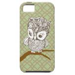 Retro Owl iPhone 4 Case