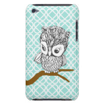 Retro Owl iPod Touch Case