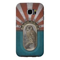 Retro Owl. Samsung Galaxy S6 Case