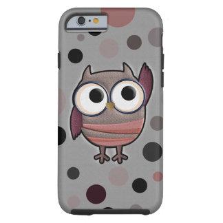 Retro Owl Tough iPhone 6 Case