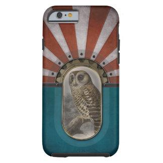 Retro Owl. Tough iPhone 6 Case