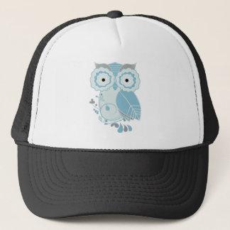 Retro Owl Trucker Hat