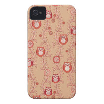 Retro Owls BlackBerry Bold Case-Mate Barely There