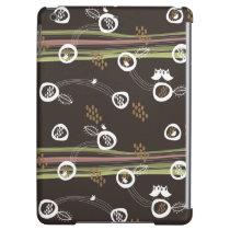 Retro Owls Family Cute Whimsical Stripes Nest Fun iPad Air Cases