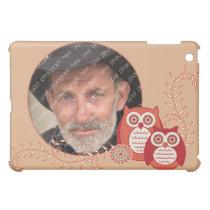 Retro Owls  iPad Mini Cover
