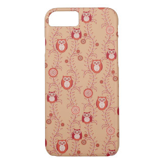Retro Owls iPhone 7 ID iPhone 7 Case