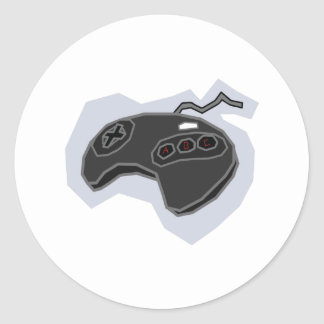 Retro Pad 2 - Video Games Gamer Gaming Snes Classic Round Sticker
