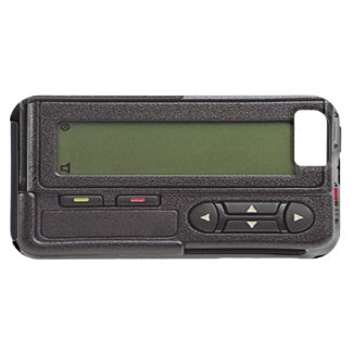 Retro Pager iPhone 5 Case