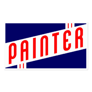 retro painter Double-Sided standard business cards (Pack of 100)