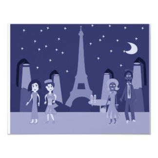Retro Paris Card