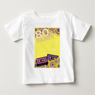 Retro Party Background Baby T-Shirt