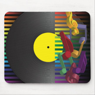 Retro Party Background Mousepad
