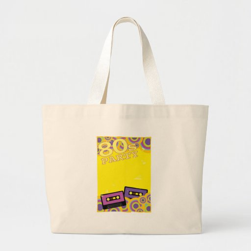 Retro Party Background Tote Bag