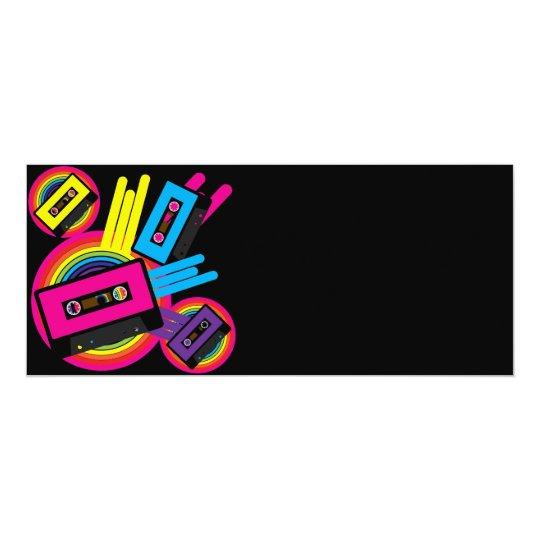 Retro Party Design Card