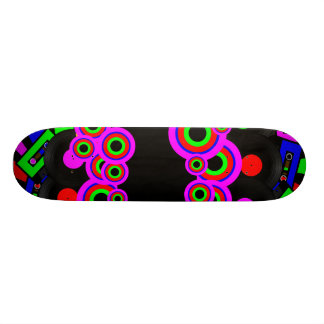 Retro Party Design Custom Skateboard