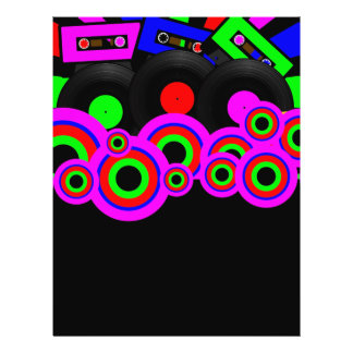 Retro Party Design Flyer