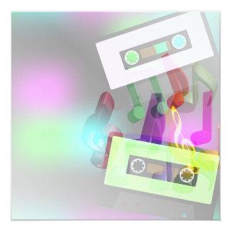 Retro Party Design Custom Invites