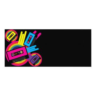 Retro Party Design Personalized Announcement