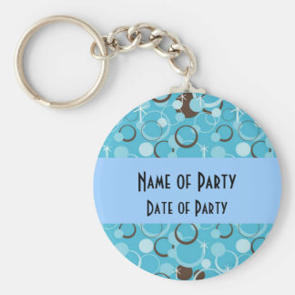 Retro Party Favors Keychain