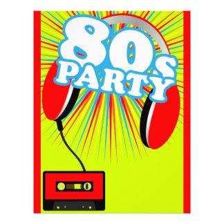 "Retro Party 8.5"" X 11"" Flyer"