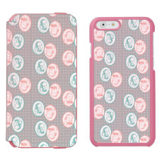Retro Party Line Call Telephone Men and Women iPhone 6/6s Wallet Case