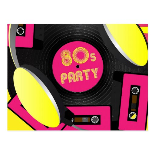 Retro Party Post Cards