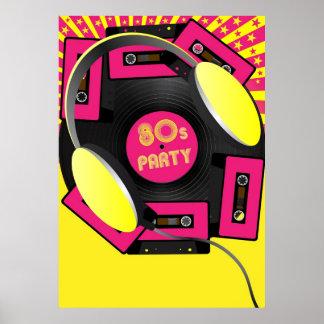 Retro Party Print