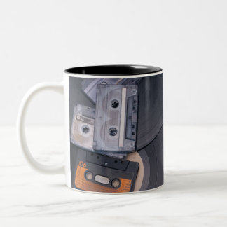 Retro Party Two-Tone Coffee Mug