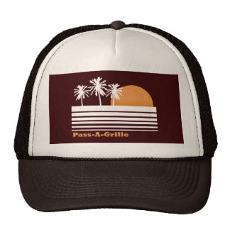 Retro Pass-a-Grille Hat