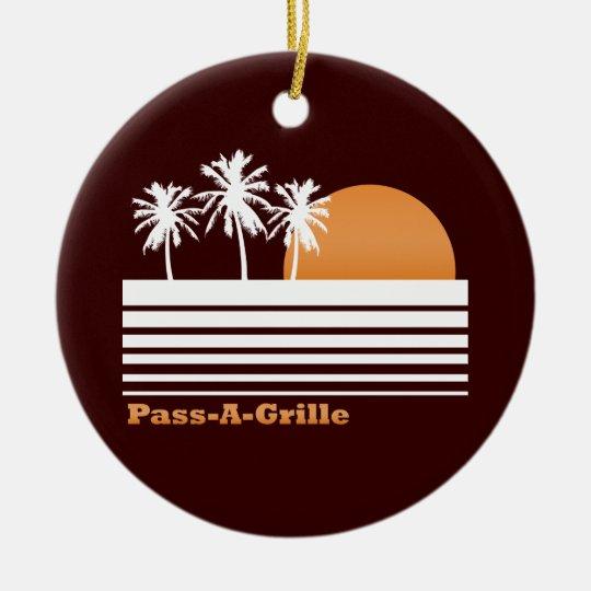 Retro Pass-a-Grille Ornament