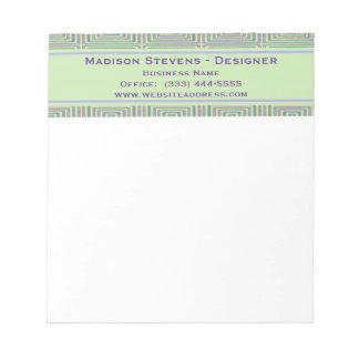 Retro Pastel Squares Notepad