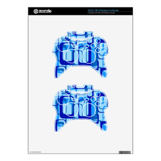 Retro Pattern 1971 Xbox 360 Controller Decal