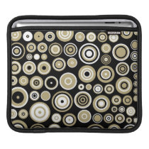 Retro Pattern Abstract Art - iPad sleeve