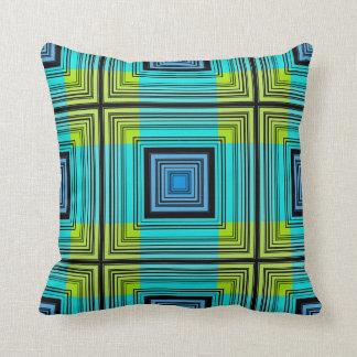 Retro Pattern Art Design Abstract Throw Pillow