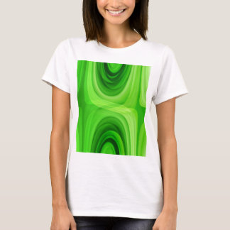 Retro pattern green no. 1 created by Tutti T-Shirt