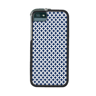 Retro Pattern in Blue and White iPhone 5/5S Covers