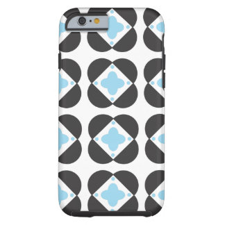 Retro Pattern in turquoise iPhone 6 case tough cas