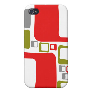 Retro Pattern iPhone 4 Covers