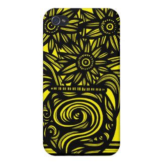 Retro Pattern Luxurious Sleek iPhone 4 Covers